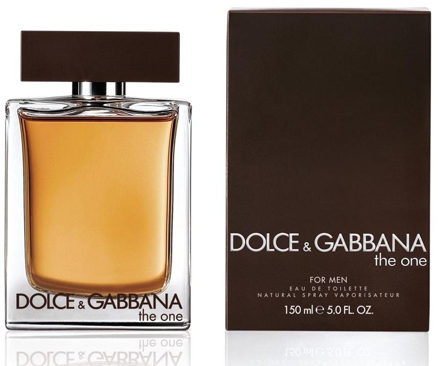 Dolce & Gabbana The One for Men, Toaletní voda, 150ml, Pánska vôňa, + AKCE: dárek zdarma