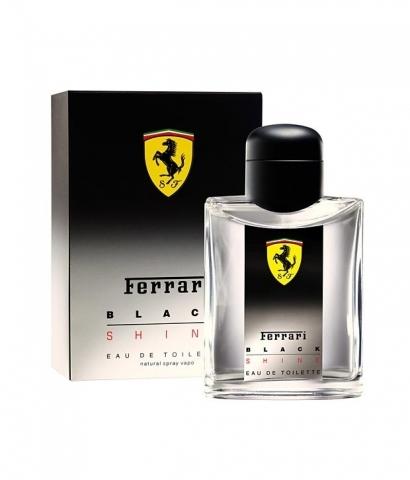 Ferrari Black Shine, Toaletní voda, 125ml, Pánska vôňa, + AKCE: dárek zdarma
