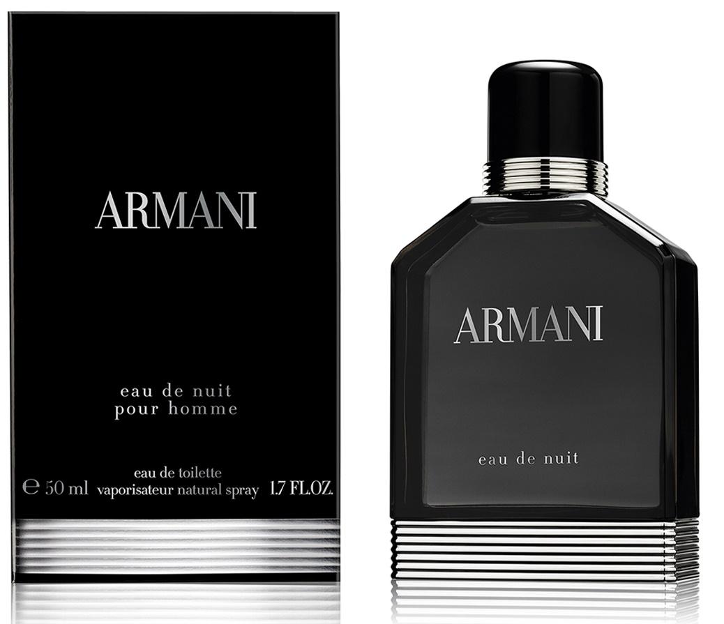 Giorgio Armani Eau De Nuit, Toaletní voda, 50ml, Pánska vôňa, + AKCE: dárek zdarma
