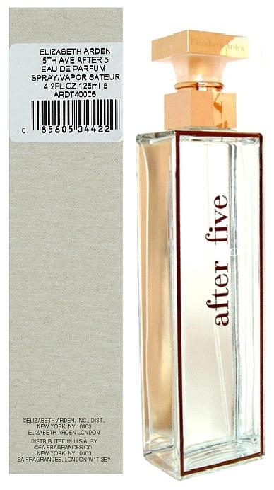 Elizabeth Arden 5th Avenue After Five, Parfémovaná voda - Tester, 125ml, Dámska vôňa, + AKCE: dárek zdarma