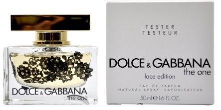 Dolce & Gabbana The One Lace Edition, Parfémovaná voda - Tester, 50ml, Dámska vôňa, + AKCE: dárek zdarma