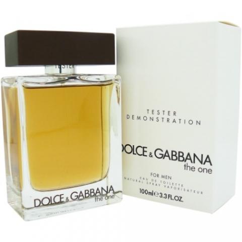 Dolce & Gabbana The One for Men, Toaletní voda - Tester, 100ml, Pánska vôňa, + AKCE: dárek zdarma