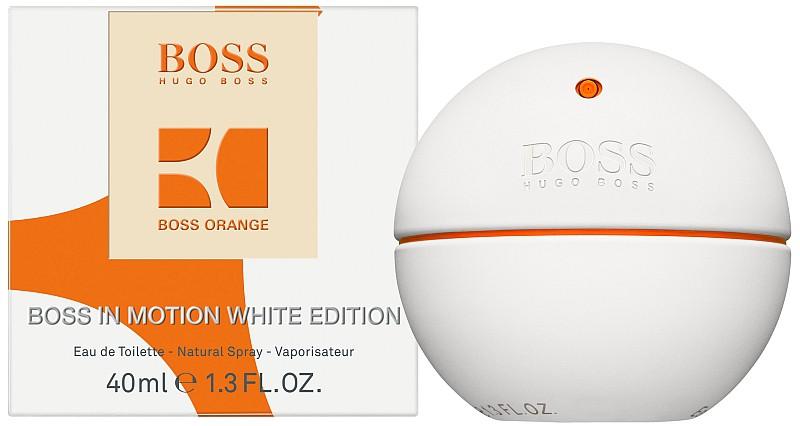 Hugo Boss In Motion White, Toaletní voda, 40ml, Pánska vôňa, + AKCE: dárek zdarma