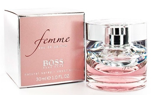 Hugo Boss Femme, Parfémovaná voda, 30ml, Dámska vôňa, + AKCE: dárek zdarma