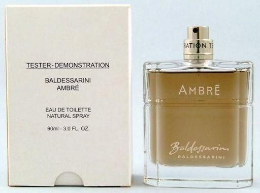Hugo Boss Baldessarini Ambré, Toaletní voda - Tester, 90ml, Pánska vôňa, + AKCE: dárek zdarma