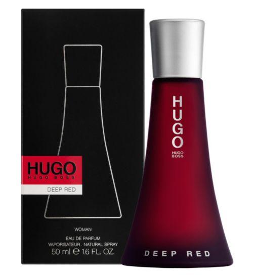 Hugo Boss Deep Red, Parfémovaná voda, 50ml, Dámska vůně, + AKCE: dárek zdarma
