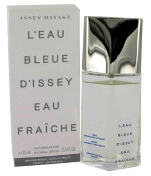 Issey Miyake L´Eau Bleue D´Issey Eau Fraiche, Toaletní voda - Tester, 75ml, Pánska vôňa, + AKCE: dárek zdarma