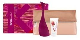 Kenzo Kenzo Amour, Dárková sada, parfémovaná voda 100ml + tělové mléko 50ml + taška, Dámska vôňa, + AKCE: dárek zdarma