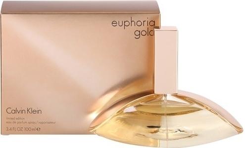 Calvin Klein Euphoria Gold for Woman, Parfémovaná voda, 100ml, Dámska vôňa, + AKCE: dárek zdarma