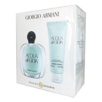 Giorgio Armani Acqua di Gioia, Dárková sada, parfémovaná voda 100ml + telové mlieko 75ml, Dámská vůně, + AKCE: dárek zdarma