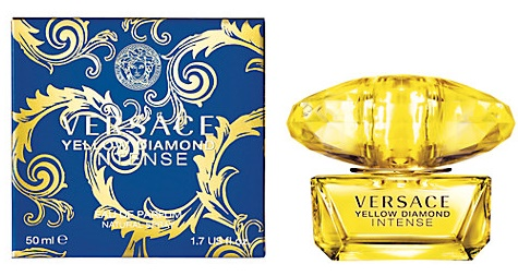 Versace Yellow Diamond Intense, Parfémovaná voda, 50ml, Dámska vôňa, + AKCE: dárek zdarma