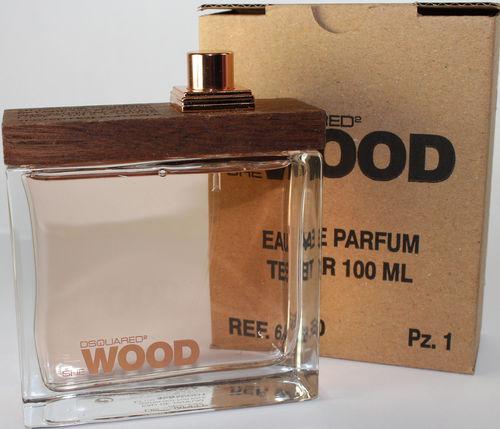 Dsquared2 She Wood, Parfémovaná voda - Tester, 100ml, Dámska vôňa, + AKCE: dárek zdarma