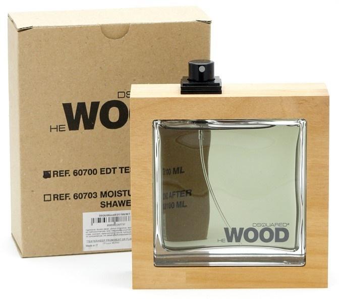Dsquared2 He Wood, Toaletní voda - Tester, 100ml, Pánska vôňa, + AKCE: dárek zdarma