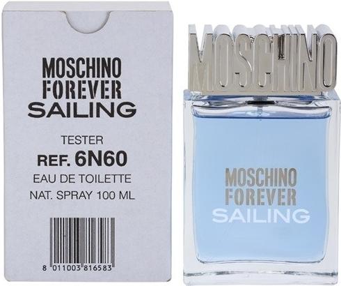 Moschino Forever Sailing, Toaletní voda - Tester, 100ml, Pánska vôňa, + AKCE: dárek zdarma