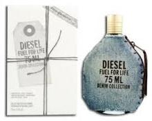 Diesel Fuel For Life Denim Homme, Toaletní voda - Tester, 75ml, Pánska vôňa, + AKCE: dárek zdarma