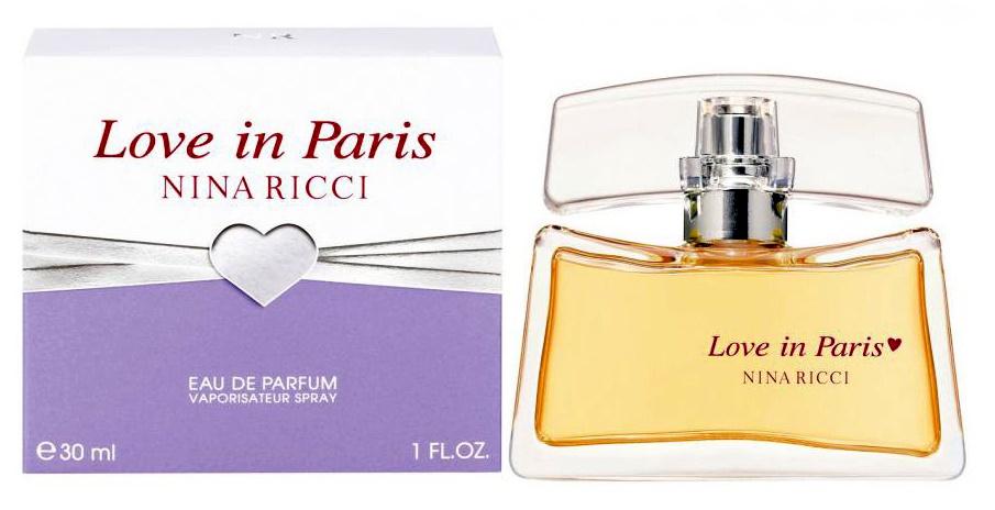 Nina Ricci Love in Paris, Parfémovaná voda, 30ml, Dámska vôňa, + AKCE: dárek zdarma