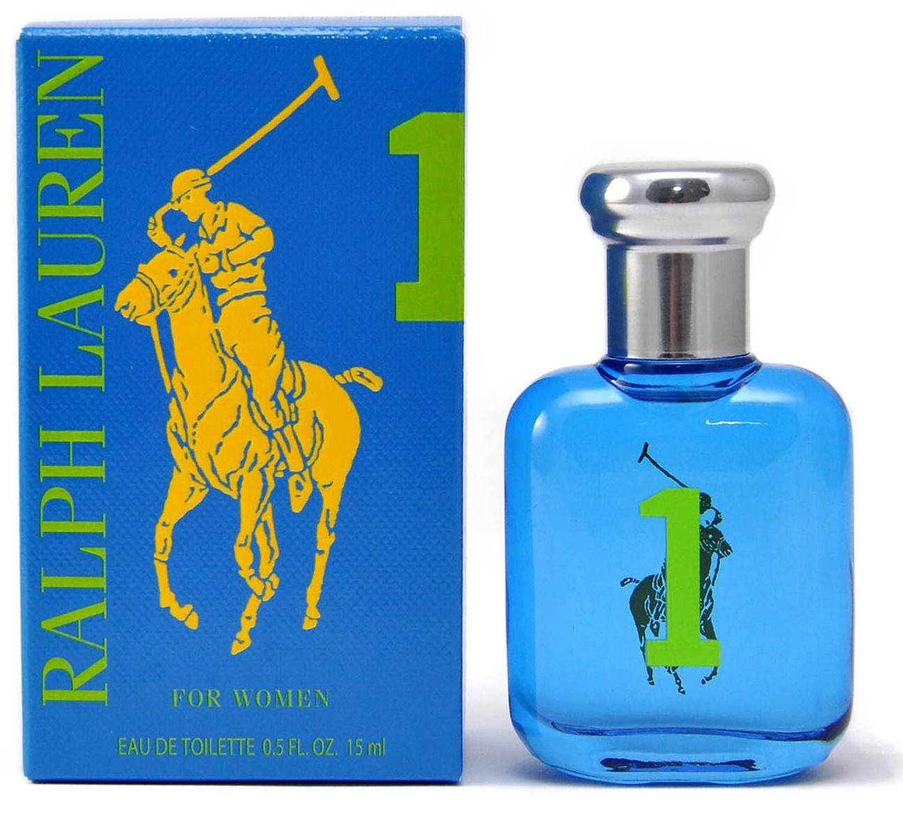 Ralph Lauren Big Pony 1 Blue Women (bez rozprašovača), Toaletní voda, 15ml, Dámska vôňa, + AKCE: dárek zdarma