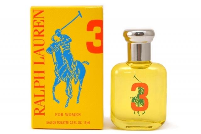 Ralph Lauren Big Pony 3 Yellow Women (bez rozprašovača), Toaletní voda, 15ml, Dámska vôňa, + AKCE: dárek zdarma