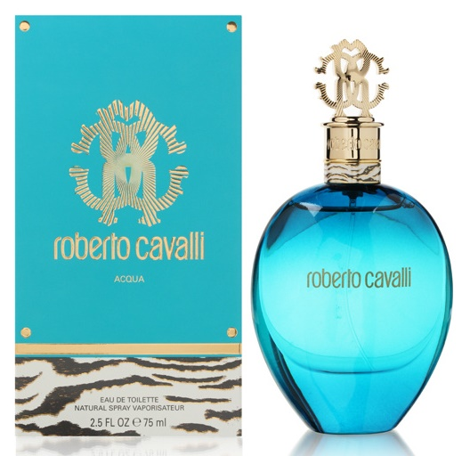 Roberto Cavalli Acqua, Toaletní voda, 75ml, Dámska vôňa, + AKCE: dárek zdarma