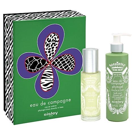 Sisley Eau de Campagne, Dárková sada, toaletní voda 100ml + 250ml sprchový gel, Dámska vôňa, + AKCE: dárek zdarma