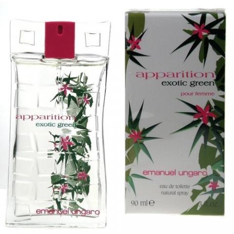 Emanuel Ungaro Apparition Exotic Green, Toaletní voda, 90ml, Dámska vôňa, + AKCE: dárek zdarma