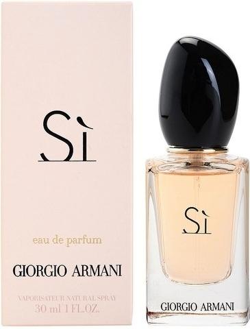 Giorgio Armani Si, Parfémovaná voda, 30ml, Dámska vôňa, + AKCE: dárek zdarma