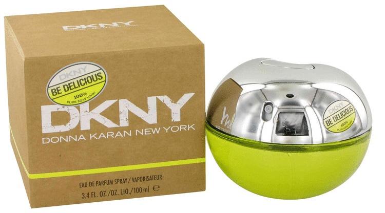 DKNY Be Delicious, Parfémovaná voda, 100ml, Dámska vôňa, + AKCE: dárek zdarma