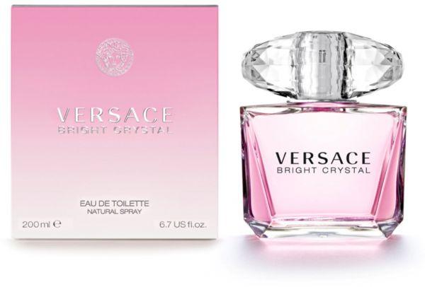 Versace Bright Crystal, Toaletní voda, 200ml, Dámska vôňa, + AKCE: dárek zdarma