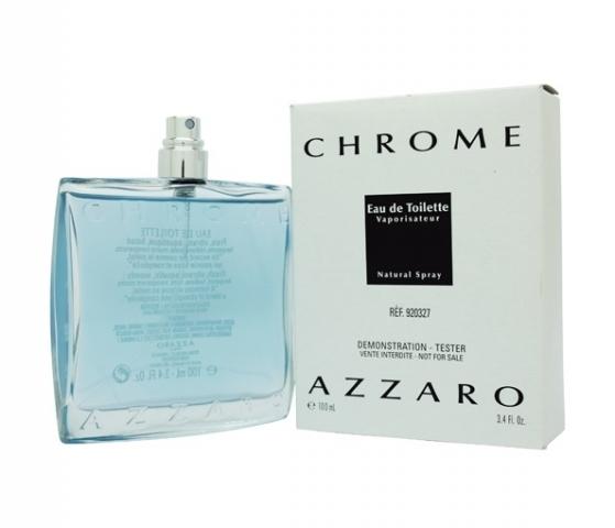 Azzaro Chrome, Toaletní voda - Tester, 100ml, Pánska vôňa, + AKCE: dárek zdarma