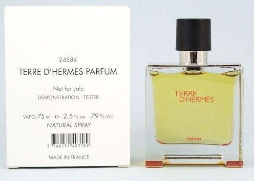 Hermes Terre D´Hermes Parfum, Parfémovaná voda - Tester, 75ml, Pánska vôňa, + AKCE: dárek zdarma
