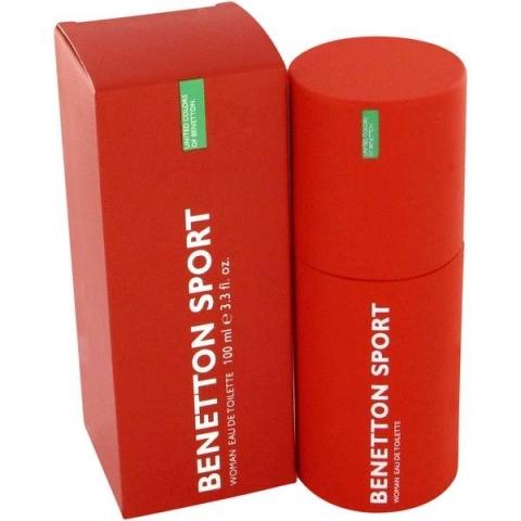Benetton Sport for Woman, Toaletní voda, 100ml, Dámska vôňa, + AKCE: dárek zdarma
