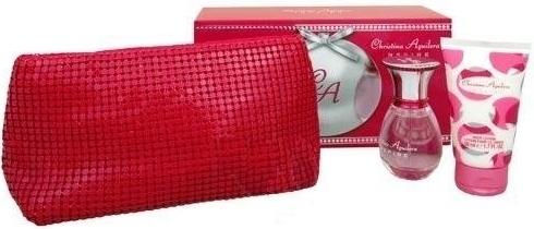 Christina Aguilera Inspire, Dárková sada, parfémovaná voda 30ml + tělové mléko 50ml + kosmeticka taška , Dámska vôňa, + AKCE: dárek zdarma