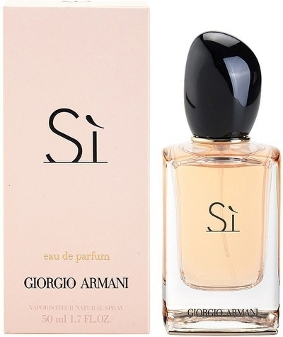 Giorgio Armani Si, Parfémovaná voda, 50ml, Dámska vôňa, + AKCE: dárek zdarma