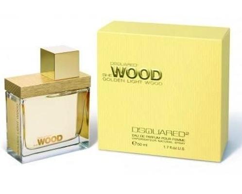 Dsquared2 She Wood Golden Light Wood, Parfémovaná voda, 30ml, + AKCE: dárek zdarma