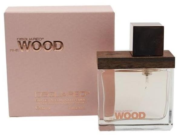 Dsquared2 She Wood, Parfémovaná voda, 30ml, Dámska vôňa, + AKCE: dárek zdarma