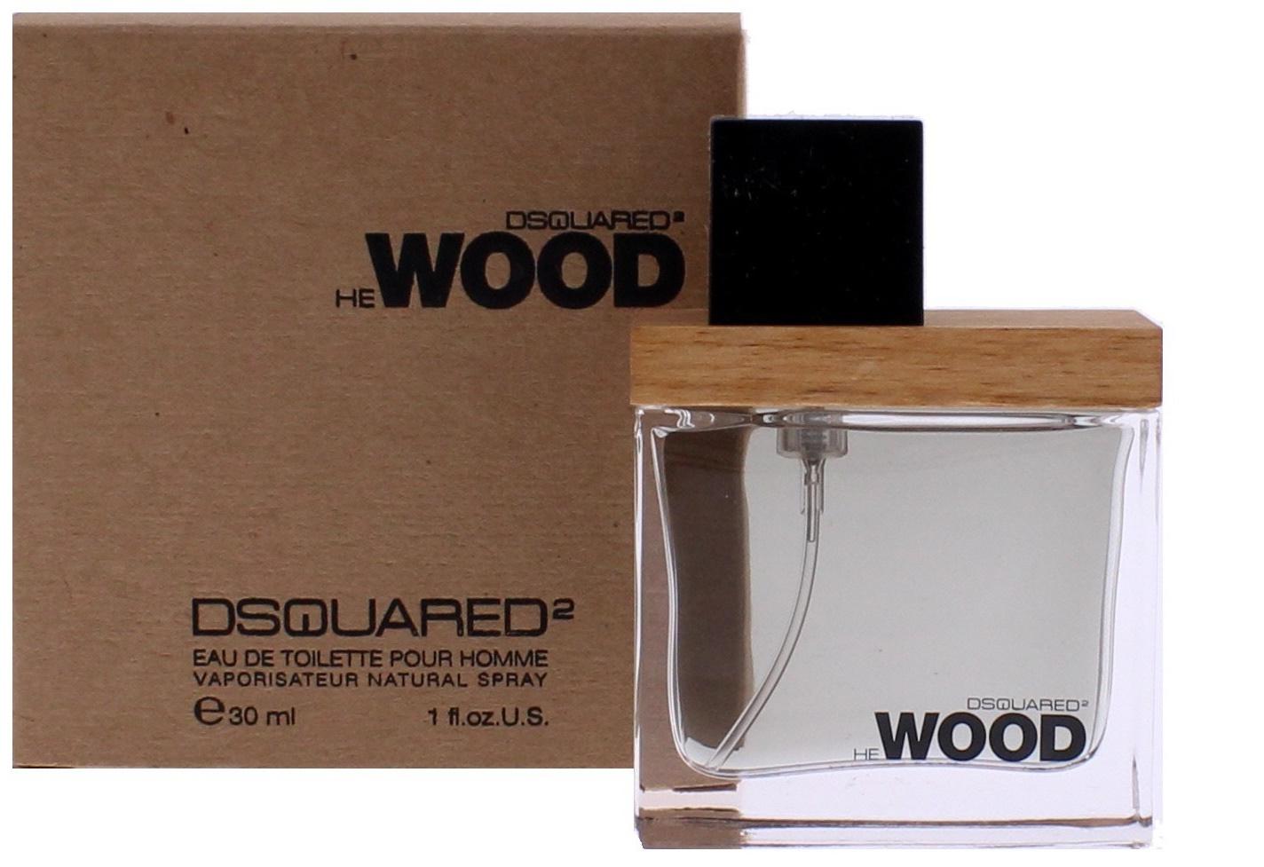Dsquared2 He Wood, Toaletní voda, 30ml, Pánska vôňa, + AKCE: dárek zdarma