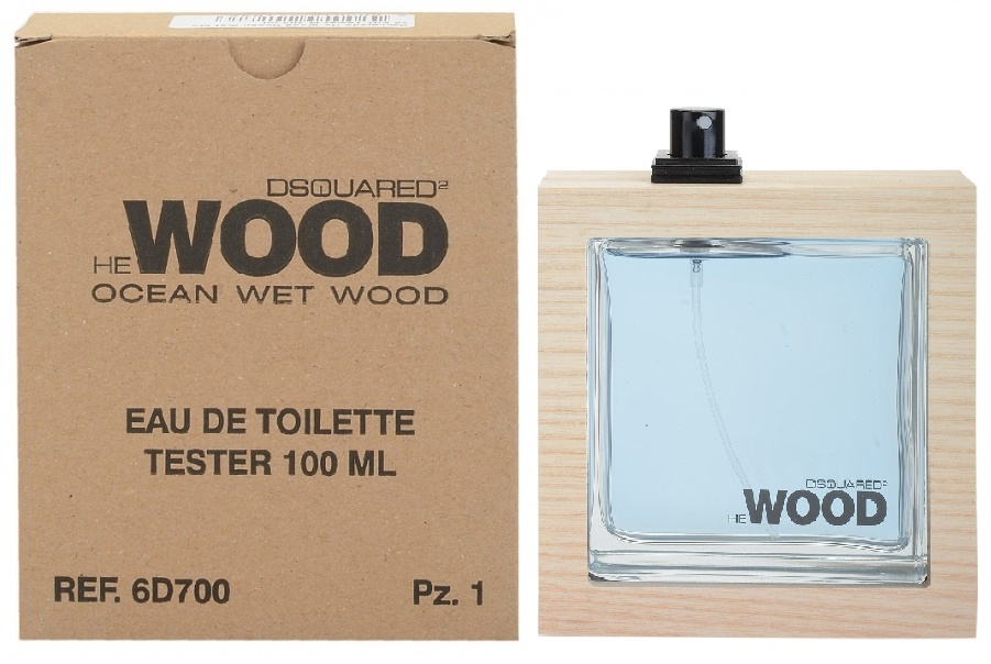 Dsquared2 He Wood Ocean Wet Wood, Toaletní voda - Tester, 100ml, Pánska vôňa, + AKCE: dárek zdarma