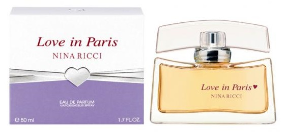 Nina Ricci Love in Paris, Parfémovaná voda, 50ml, Dámska vôňa, + AKCE: dárek zdarma