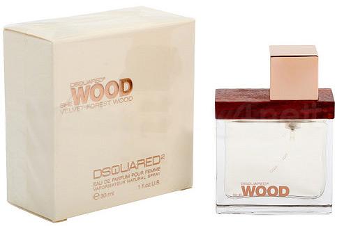 Dsquared2 She Wood Velvet Forest Wood, Parfémovaná voda, 30ml, Dámska vôňa, + AKCE: dárek zdarma