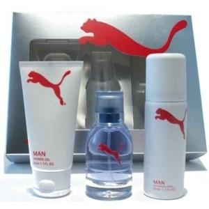 Puma White Man, Dárková sada, toaletní voda 30ml + deodorant 50ml + sprchový gel 50ml , Pánska vôňa, + AKCE: dárek zdarma