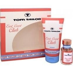 Tom Tailor East Coast Club Woman, Dárková sada, toaletní voda 30ml + sprchový gel 150ml, Dámska vôňa, + AKCE: dárek zdarma
