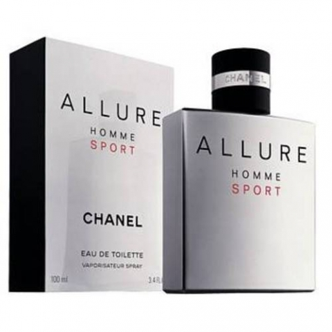 Chanel Allure Homme Sport, Toaletní voda, 50ml, Pánska vôňa, + AKCE: dárek zdarma