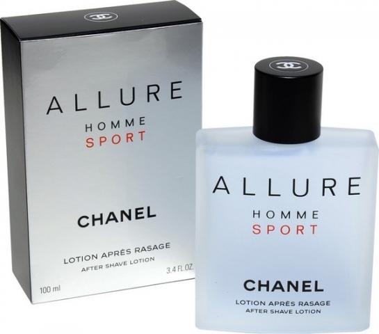Chanel Allure Homme Sport, Voda po holení, 100ml, Pánska vôňa, + AKCE: dárek zdarma