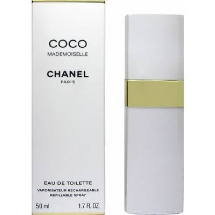 Chanel Coco Mademoiselle - plniteľný, Toaletní voda, 50ml, Dámska vôňa, + AKCE: dárek zdarma