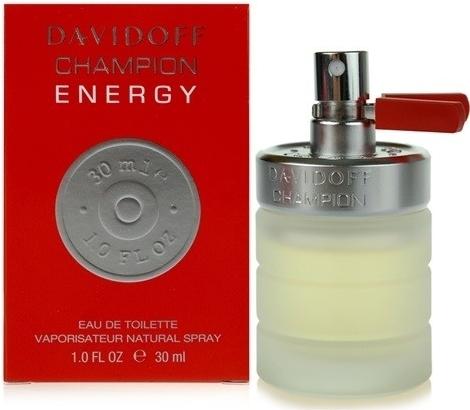 Davidoff Champion Energy, Toaletní voda, 30ml, Pánska vôňa, + AKCE: dárek zdarma