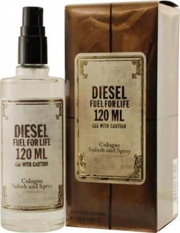 Diesel Fuel for Life Homme Cologne, Kolínská voda, 120ml, Pánska vôňa, + AKCE: dárek zdarma