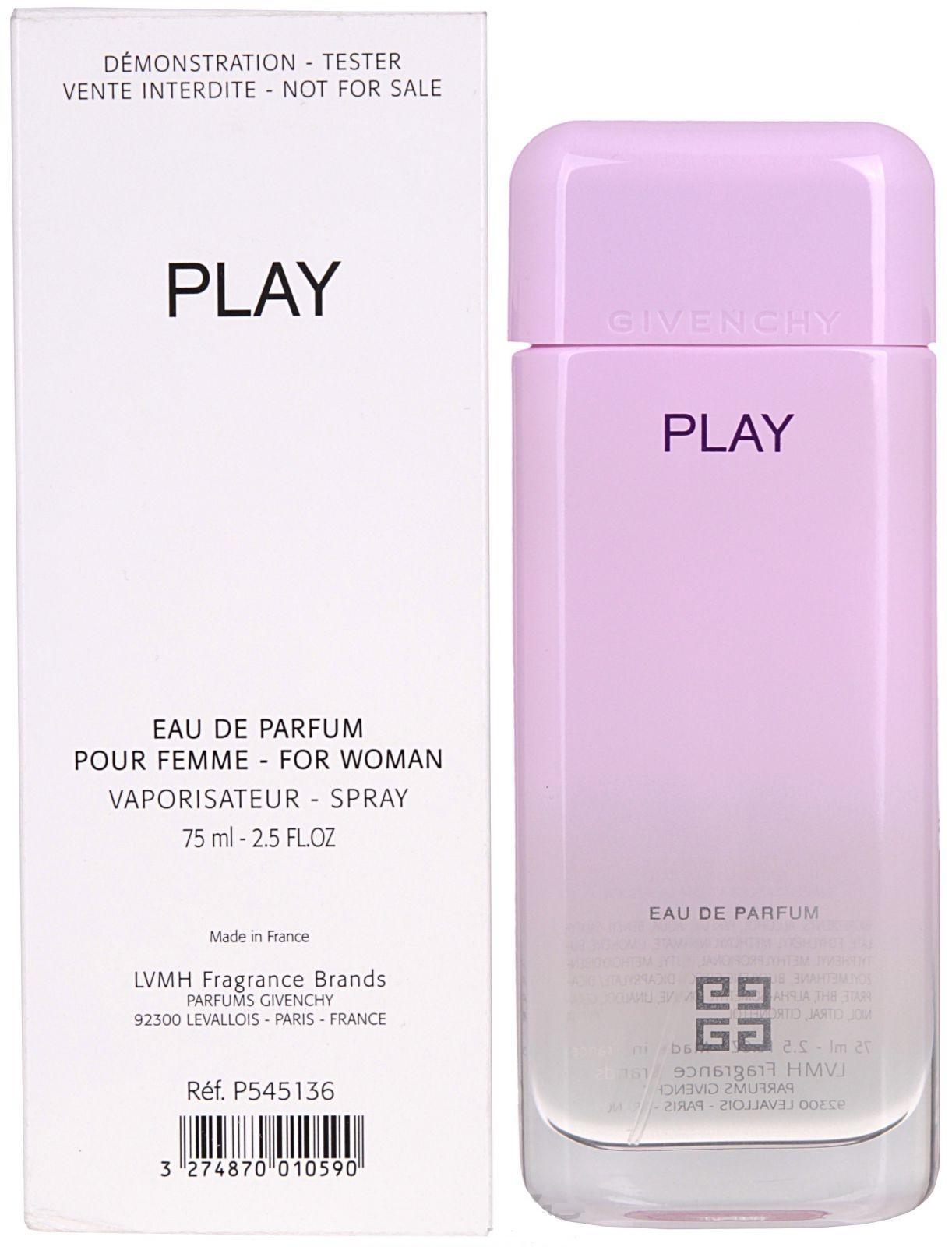 Givenchy Play for Her, Parfémovaná voda - Tester, 75ml, Dámska vôňa, + AKCE: dárek zdarma
