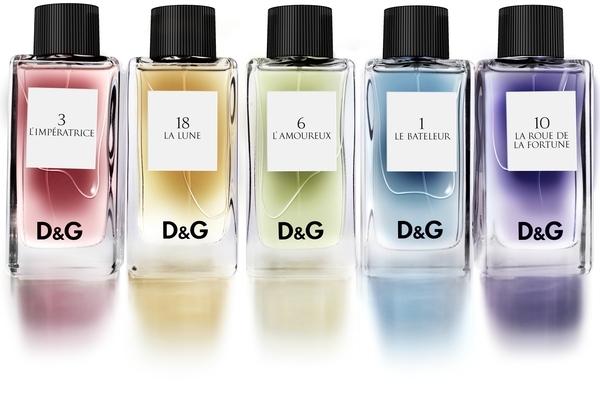 Dolce & Gabbana 18 La Lune, Dárková sada, 1 Le Bateleur 20ml + 3 L´Imperatrice 20ml + 6 L´Amoureux 20ml + 10 La Roue de la Fortune 20ml + 18 La Lune 20ml, Unisex vôňa, + AKCE: dárek zdarma