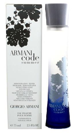 Giorgio Armani Code Summer Pour Femme 2010, Toaletní voda - Tester, 75ml, Dámska vôňa, + AKCE: dárek zdarma