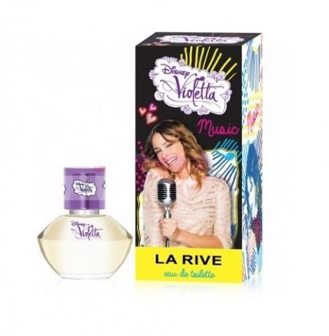 Walt Disney La rive Violetta Music, Toaletní voda, 20ml, + AKCE: dárek zdarma